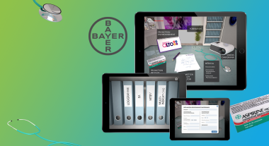 Application iPad pour Bayer