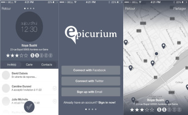 Application iOS & Android pour Epicurium