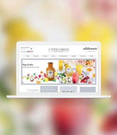 E-commerce pour confitures artisanales
