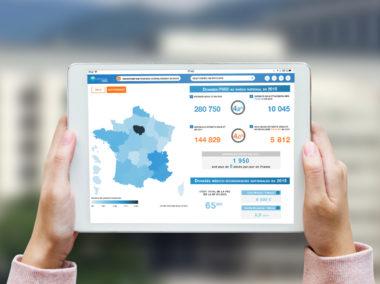 Application Tablettes : Data-visualisation